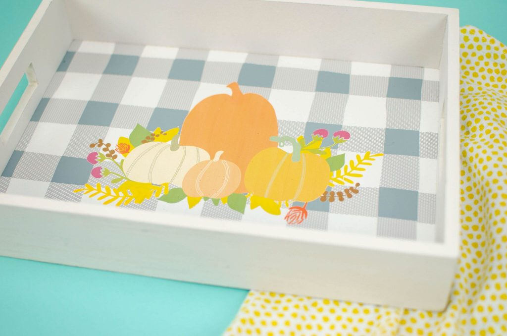 Fall Inspired Serving Tray