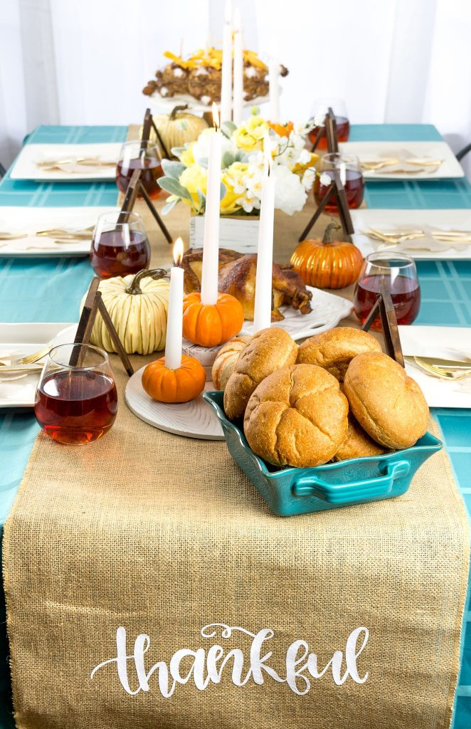 Iron-On Burlap Table Runner