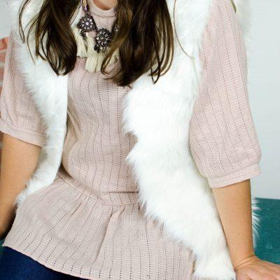 DIY Fur Vest thumbnail