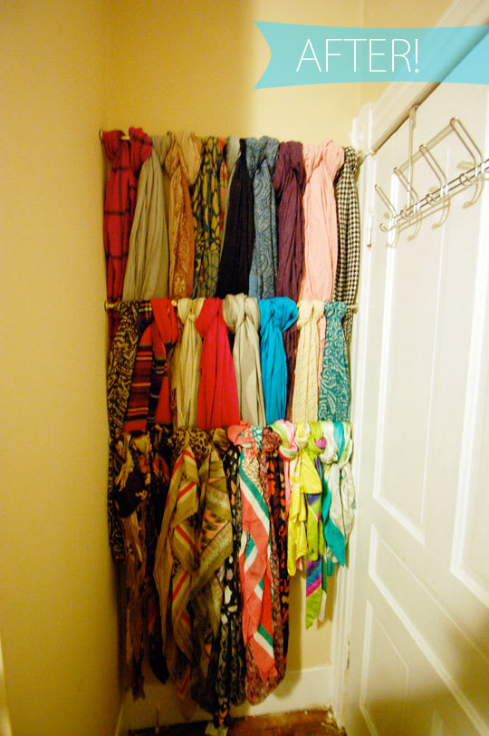 Streamlining Scarf Storage