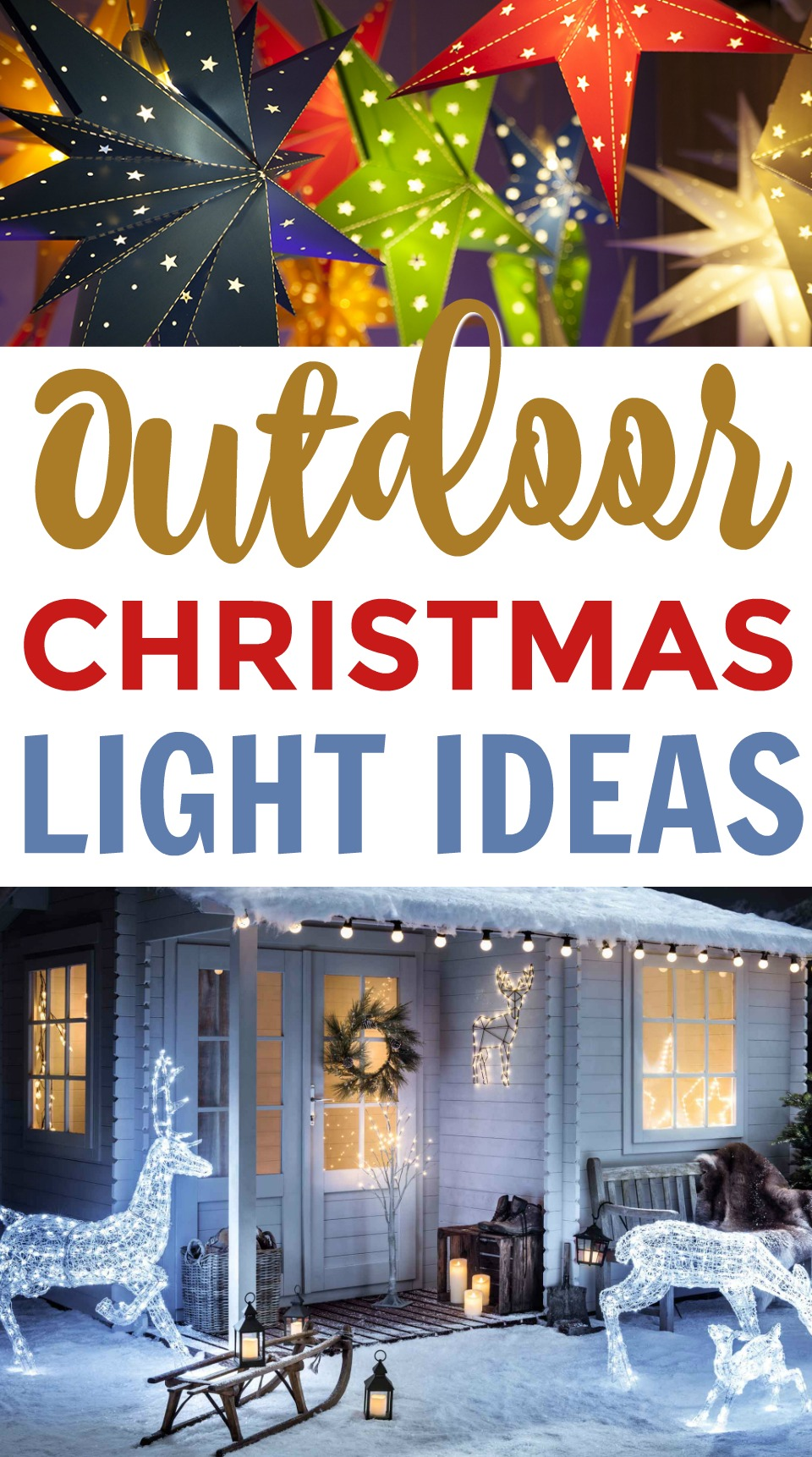 Outdoor Christmas Light Ideas - A Little Craft In Your Day on Patio Decorating Ideas With Lights id=62618