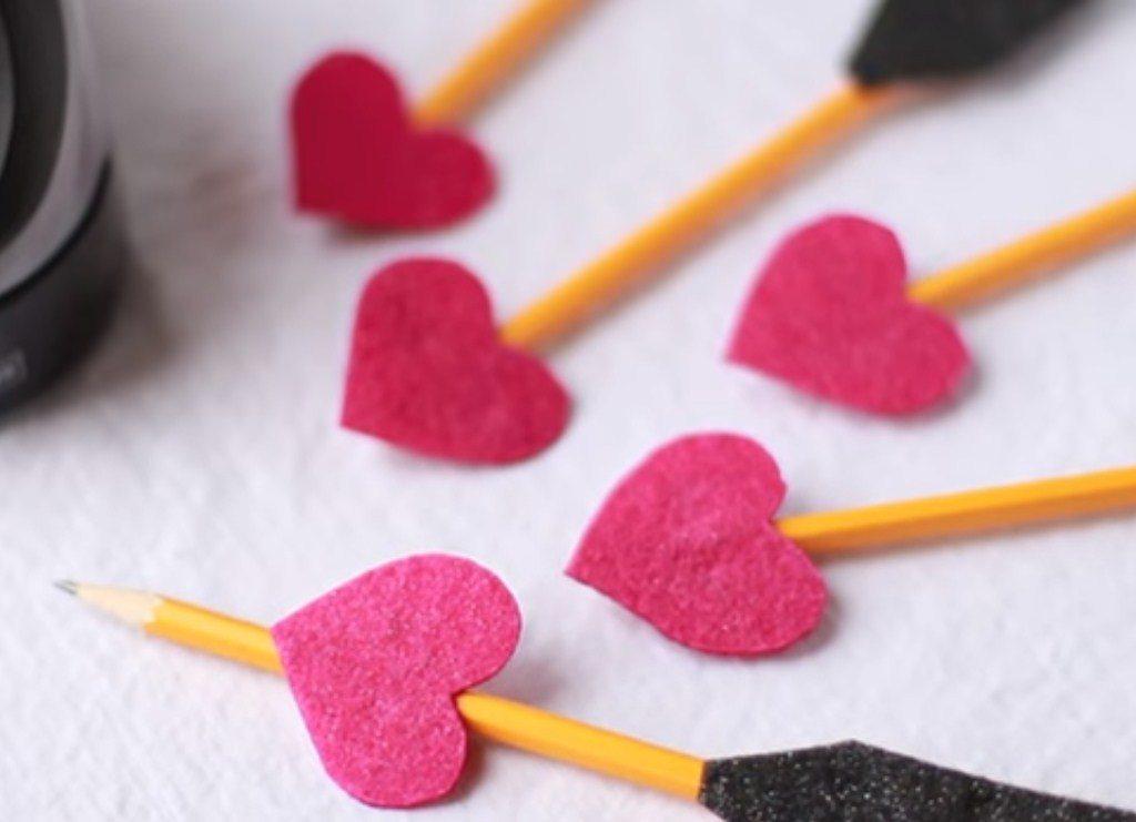 Valentine's Day Pencils