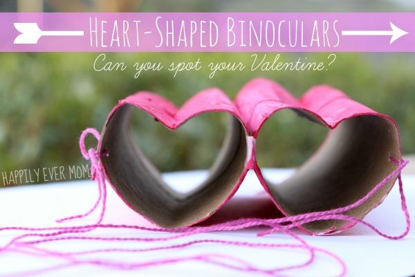 HEART-SHAPED BINOCULARS