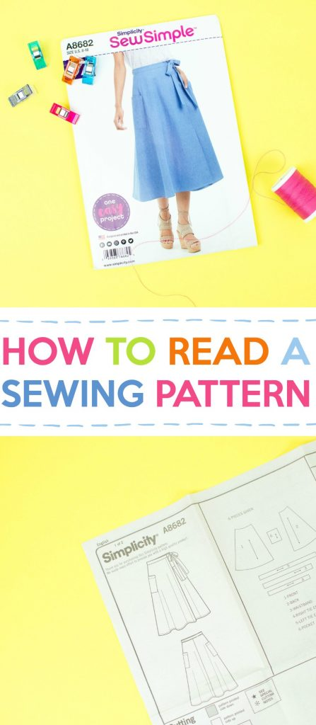 How to Read a Sewing Pattern Tutorial
