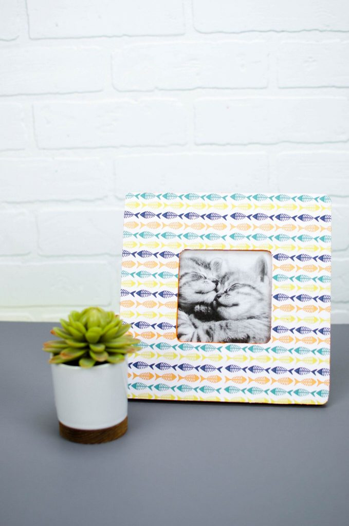 Print and Cut Pet Photo Frame