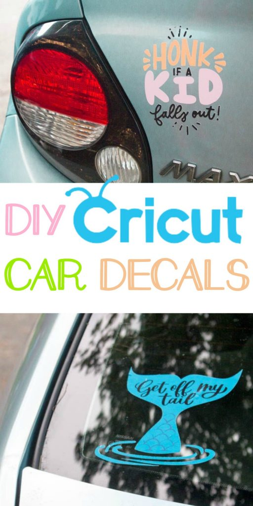 image relating to Printable Window Decals named Do it yourself Cricut Vehicle Decals - A Small Craft Within Your Working day