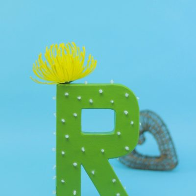 DIY Cactus Monogram thumbnail