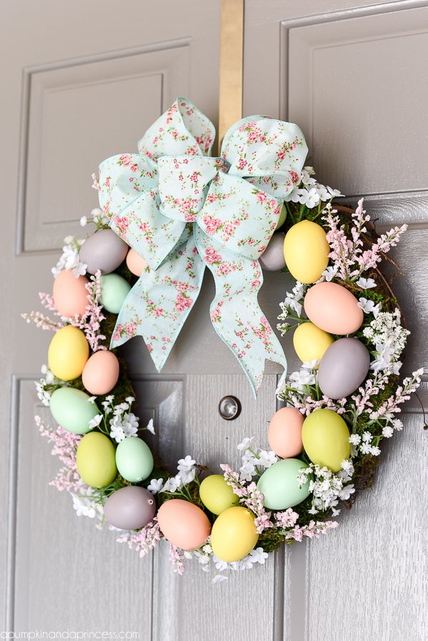 DIY Easter Home Decor - A Little Craft In Your Day