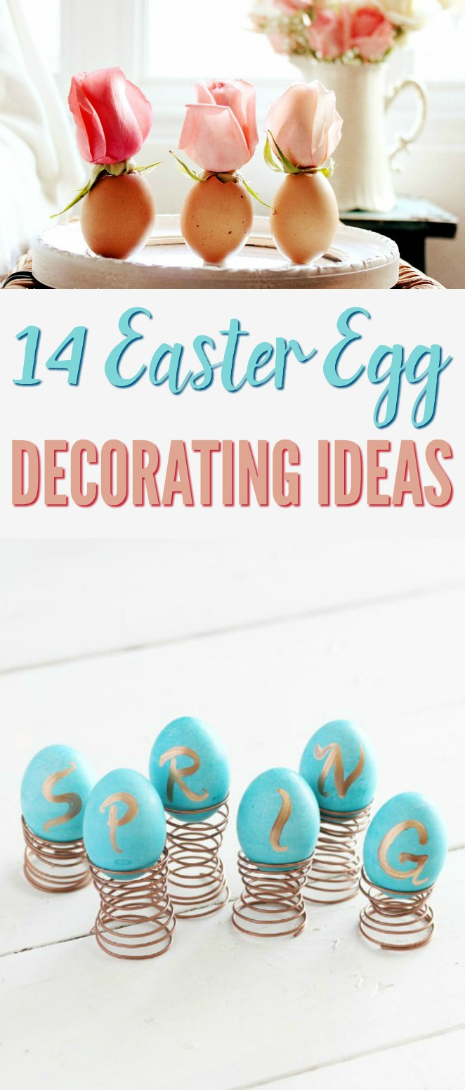 Easter Egg Decorating Ideas - A Little Craft In Your Day