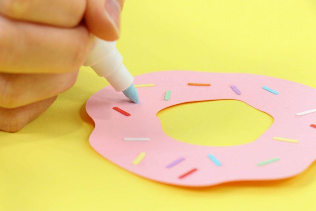DIY Donut Box With The Cricut Scoring Wheel
