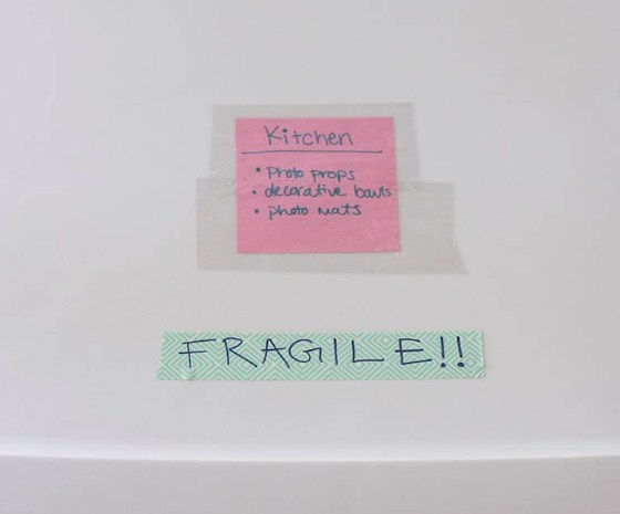 be sure to mark vulnerable objects as fragile