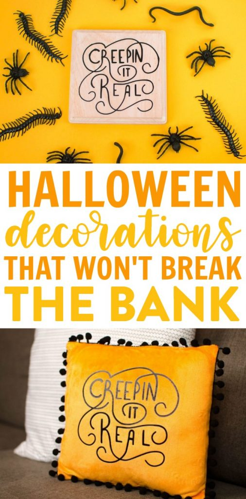 Halloween Decorations that Won't Break the Bank