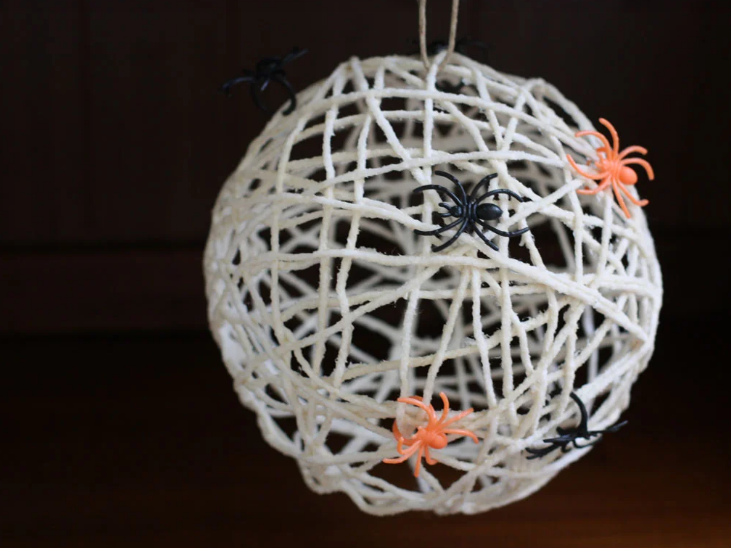 simple to make spider web