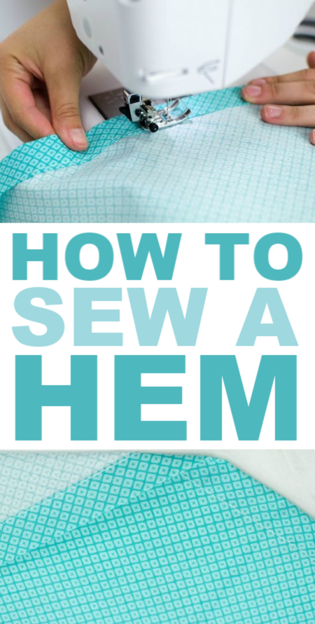 how to sea a perfect hem quickly and easily