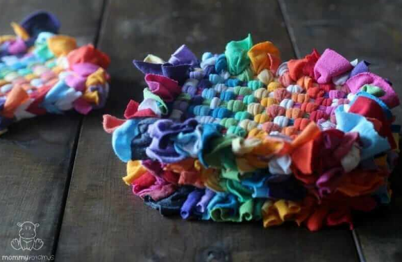 pot holders you can make from old shirts
