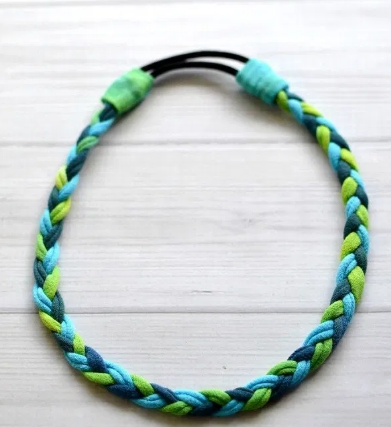 headband you can make from an old shirt
