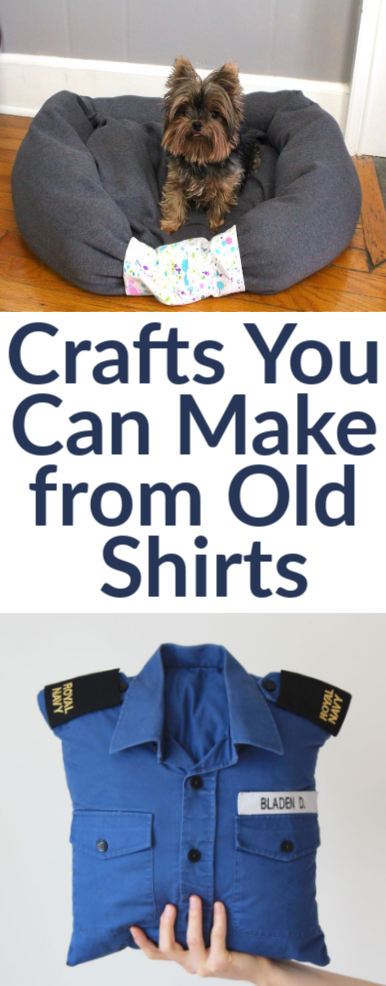 Crafts You Can Make from Old Shirts
