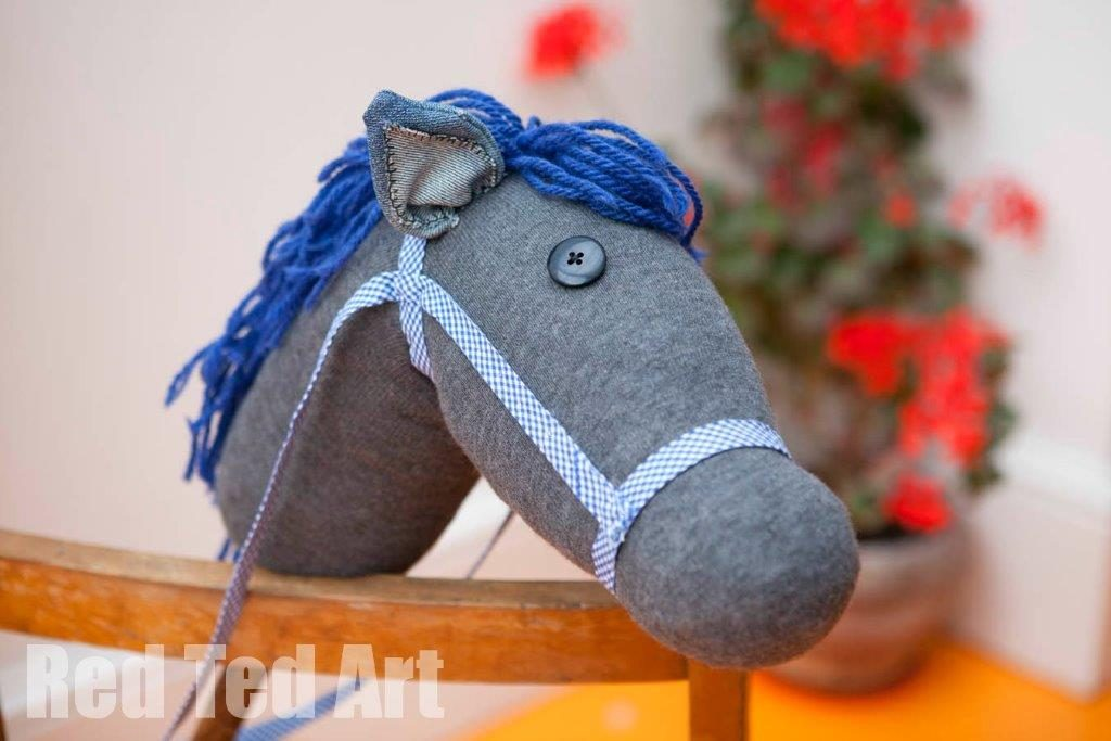 Hobby Horse - makes a great Christmas gift you can make on a budget