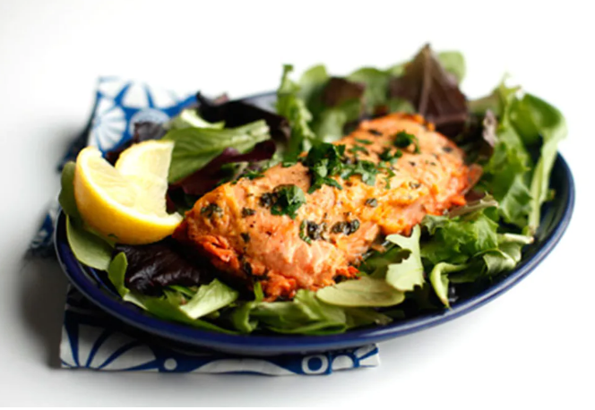 salmon you can make in a microwave - recipes you can make in your dorm room