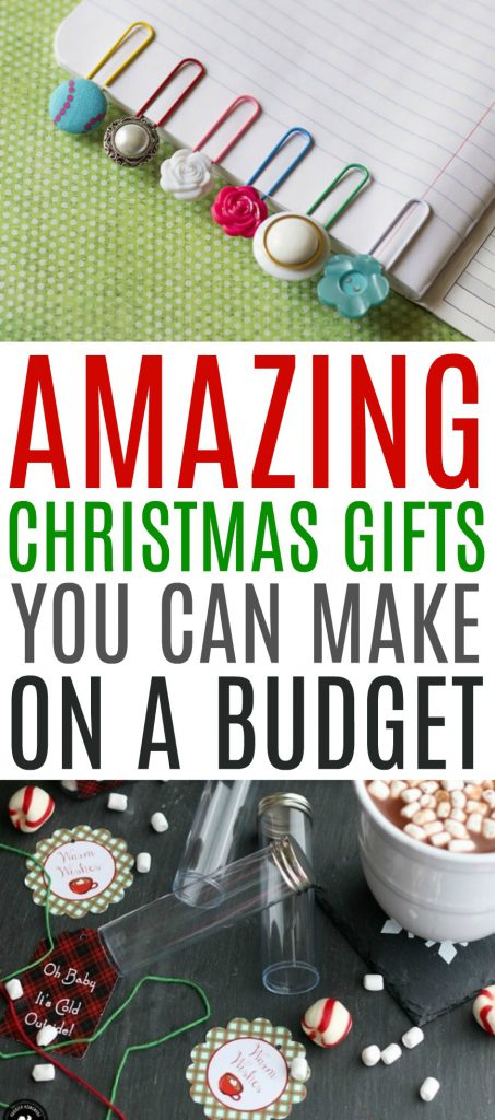 Amazing Christmas Gifts You Can Make on a Budget Roundup