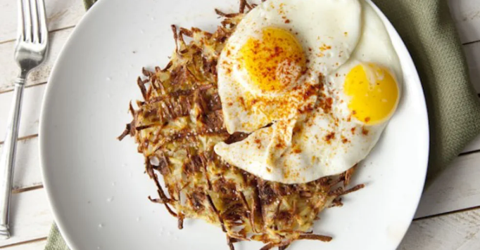 recipes you can make in your dorm room - hash browns you can make in a waffle iron