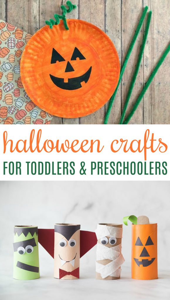 halloween crafts for toddlers and preschoolers