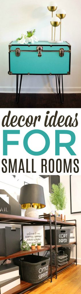 Decor Ideas for Small Rooms Roundup