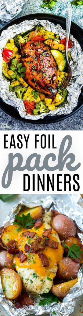 Easy Foil Pack Dinners roundup