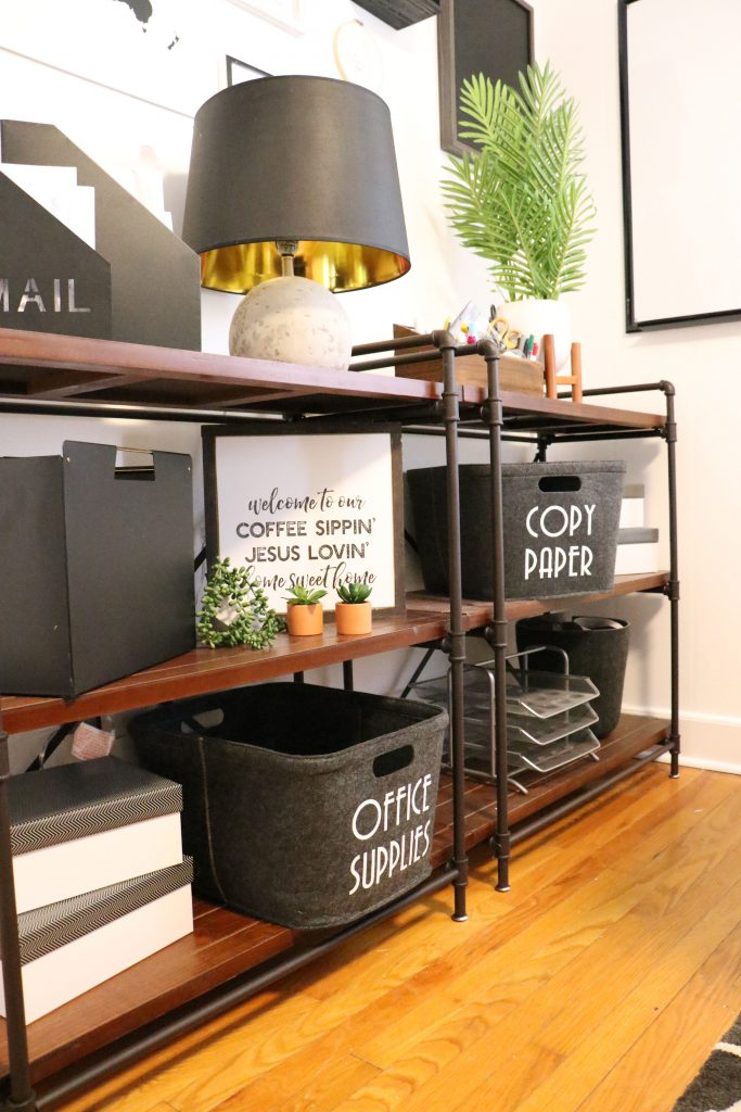 cricut decor and organization project