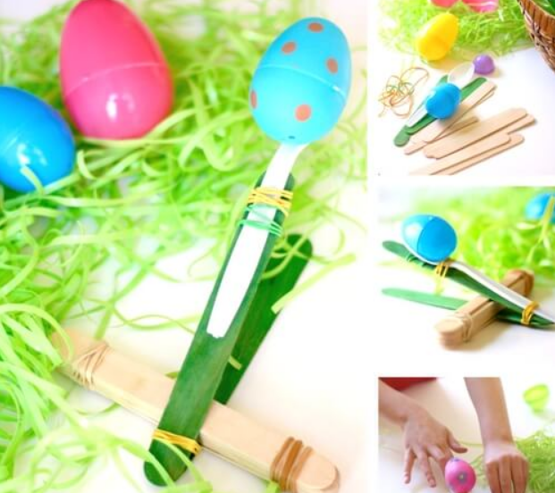 EASTER CATAPULT STEM
