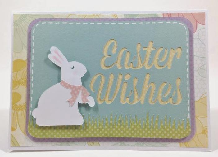 Easter pop-up card