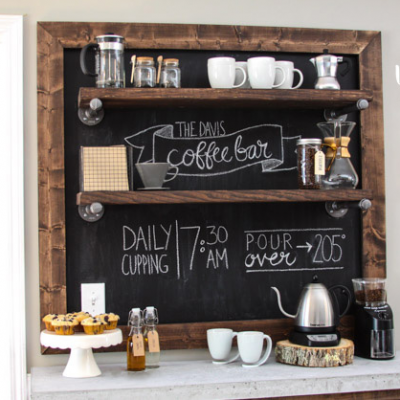 DIY Coffee Station Ideas thumbnail