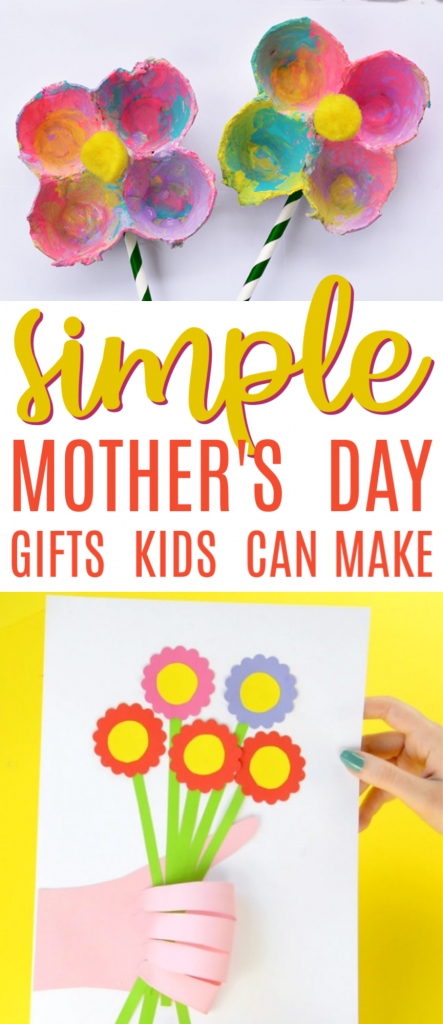 Simple Mother's Day Gifts Kid Can Make