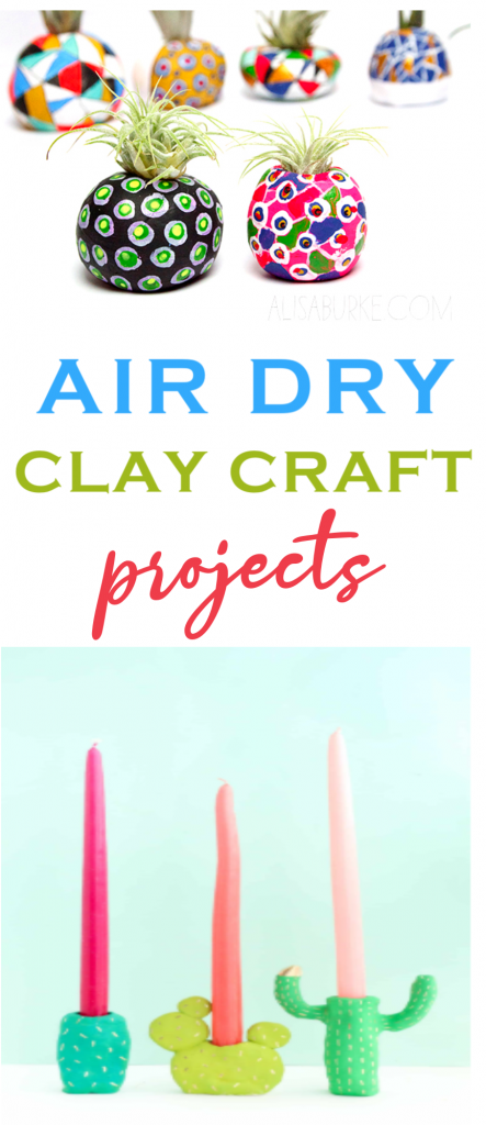 Air Dry Clay Craft Projects Roundups