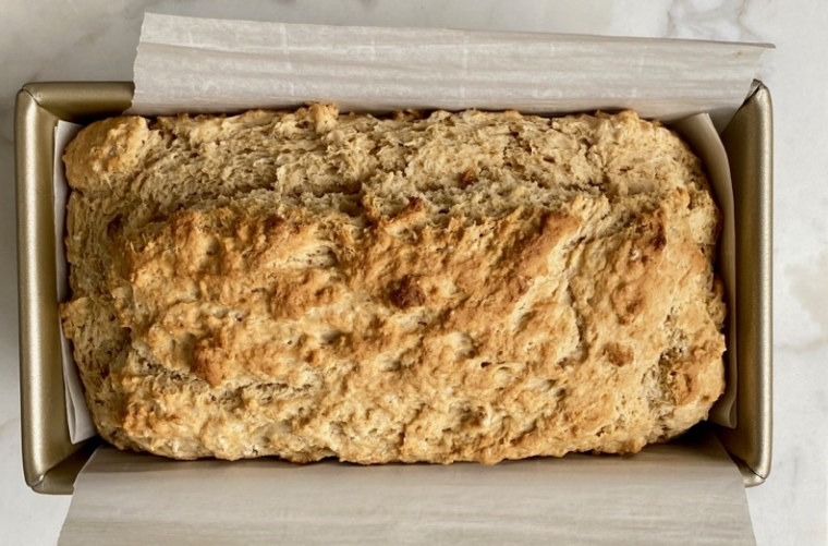 Simple and quick beer bread