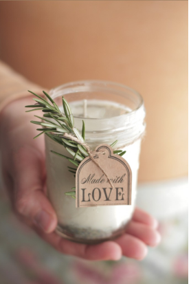 DIY homemade candles teens will surely enjoy making for mother's day