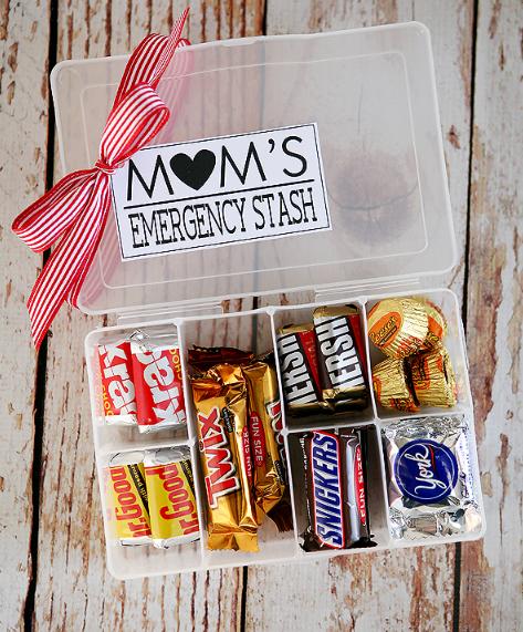 Moms emergency stash holiday gift