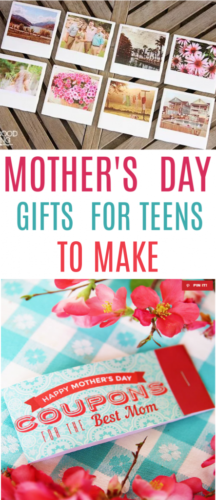 Mother's Day Gifts For Teens To Make roundup