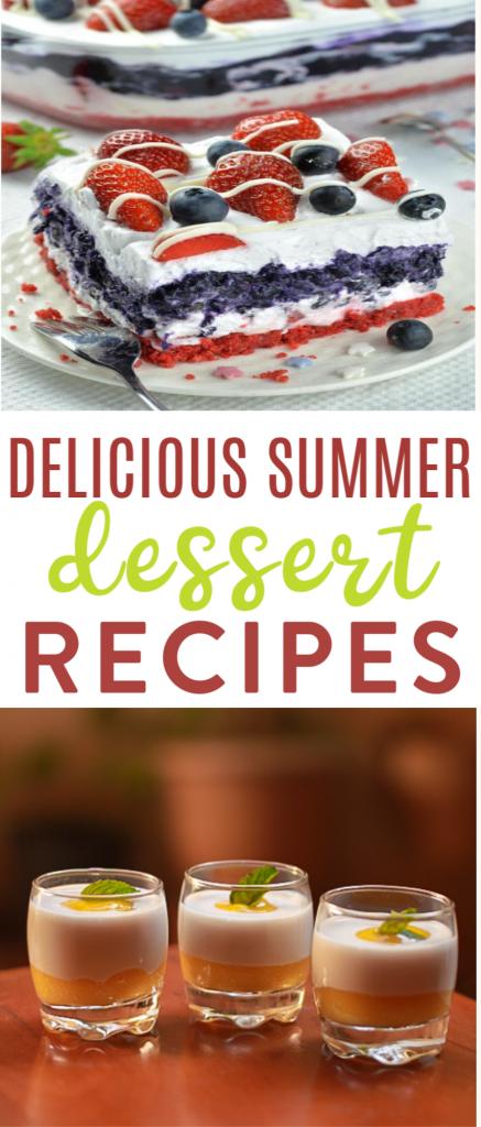 Delicious Summer Dessert Recipes roundup