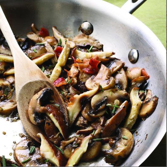 sautéed garlic rosemary mushrooms