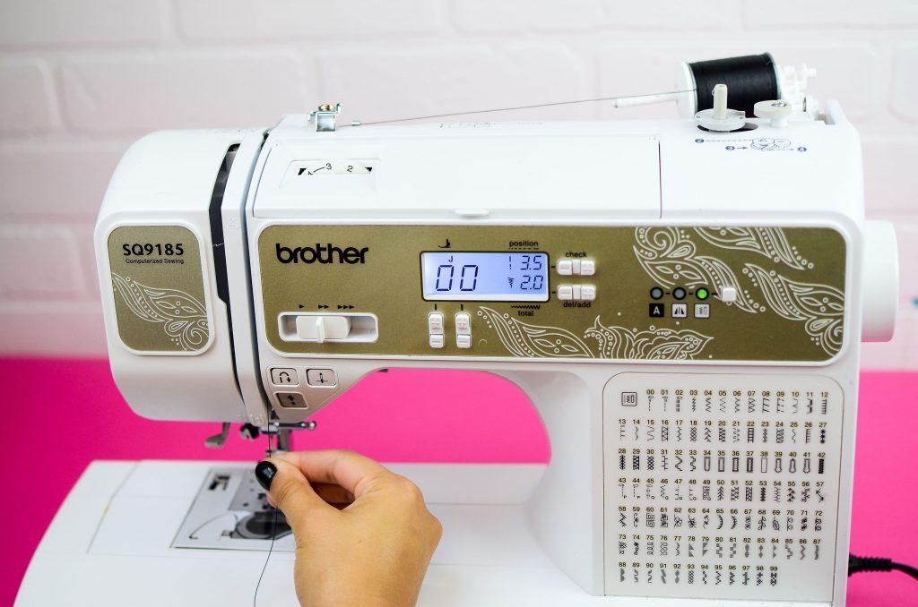 checking sewing machine tension