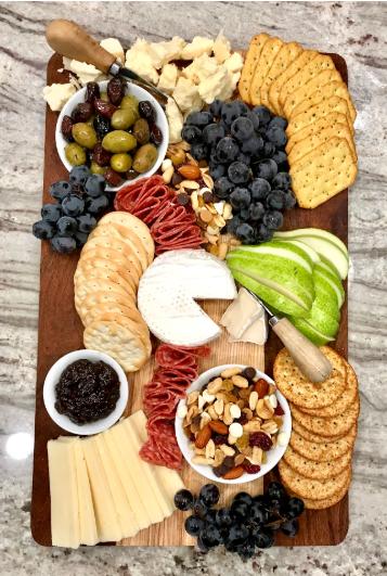 Beautiful cheese board on a budget