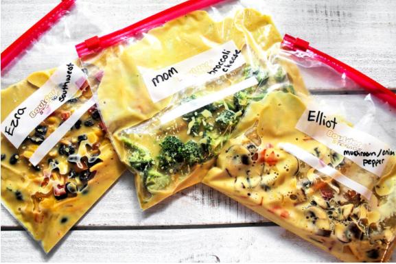 Best Vegan Camping Food – Boil In A Bag Omelettes