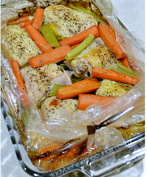 Easy and Delicious Chicken in a Bag