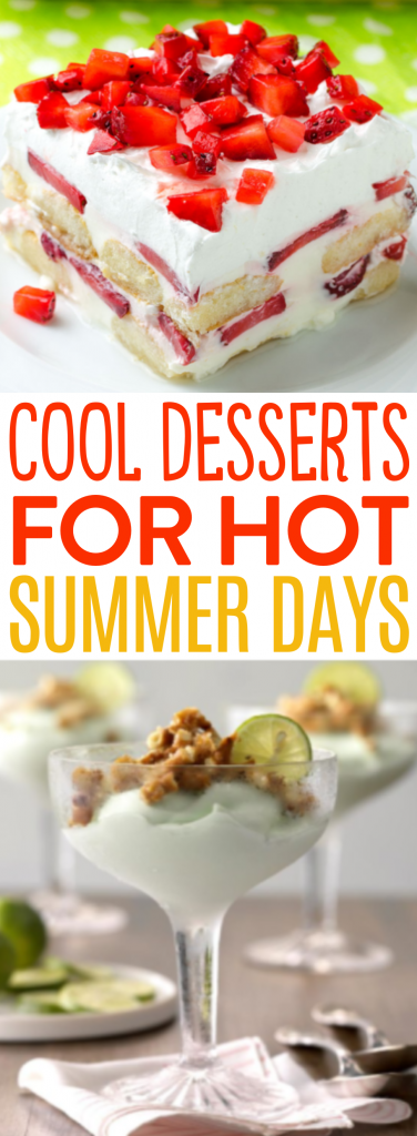 Cool Desserts for Hot Summer Days Roundups