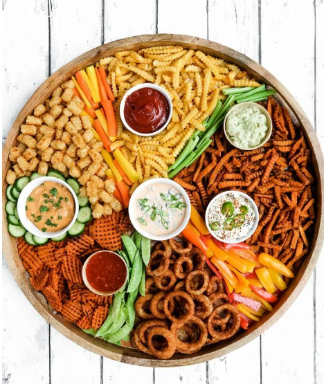 An epic french fries board recipe for a perfect game day or party