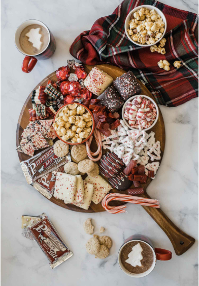 How to make a holiday candy charcuterie board