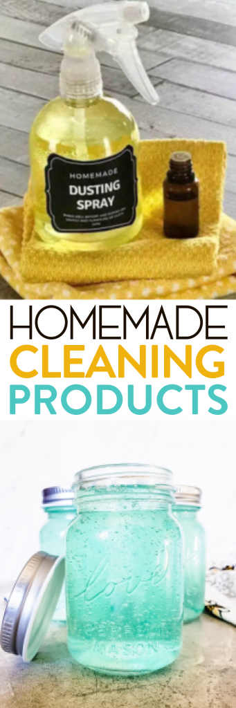Homemade Cleaning Products Roundups