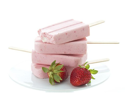 A delicious, healthy, and sugar-free keto strawberry cheesecake popsicles