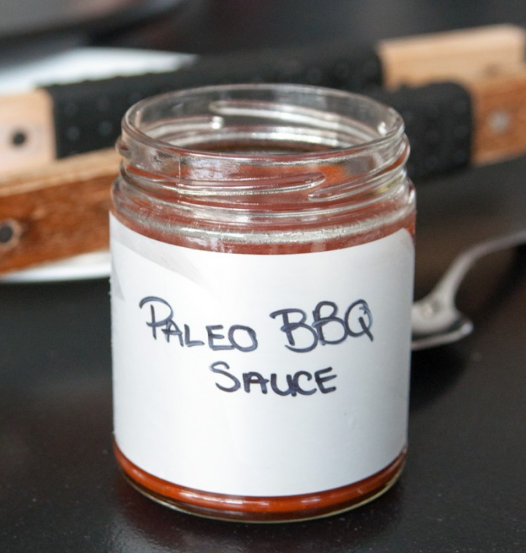 A delicious paleo BBQ sauce in a jar